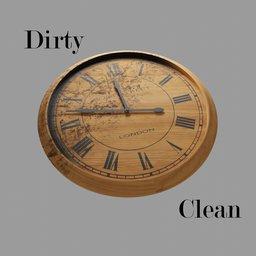 Thumbnail: Wood Clock