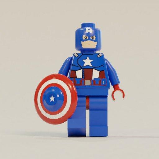 Thumbnail: Lego captain America