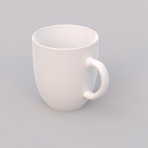 Thumbnail: white porcelain mug