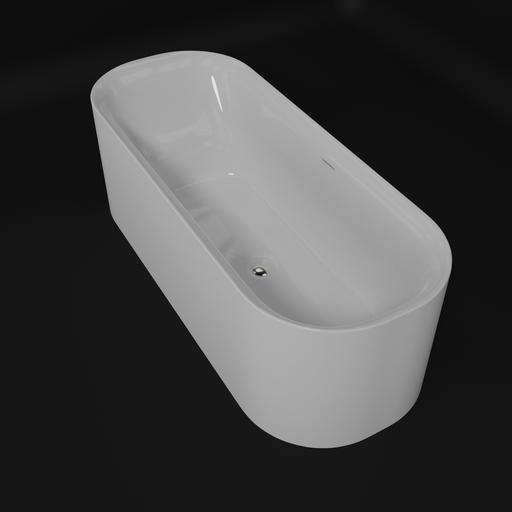 Bathtub free standing