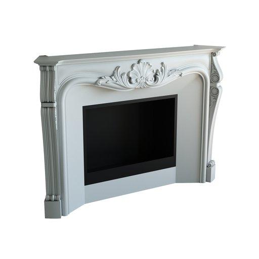 Thumbnail: Classic fireplace