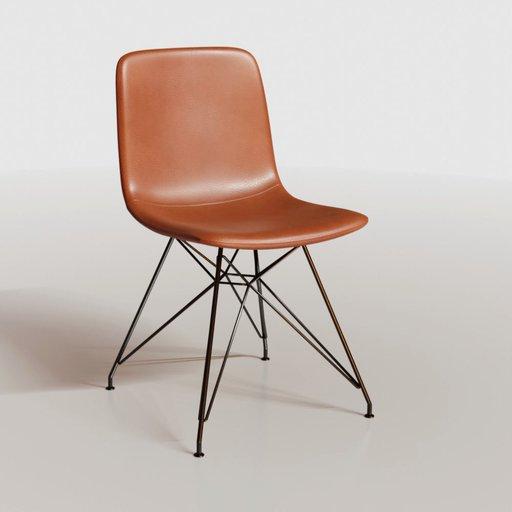 Eiffel chair leather