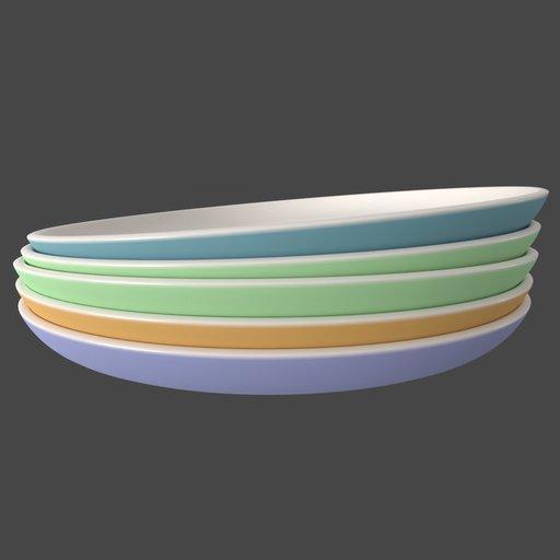 Thumbnail: Ceramic Plates Stacked