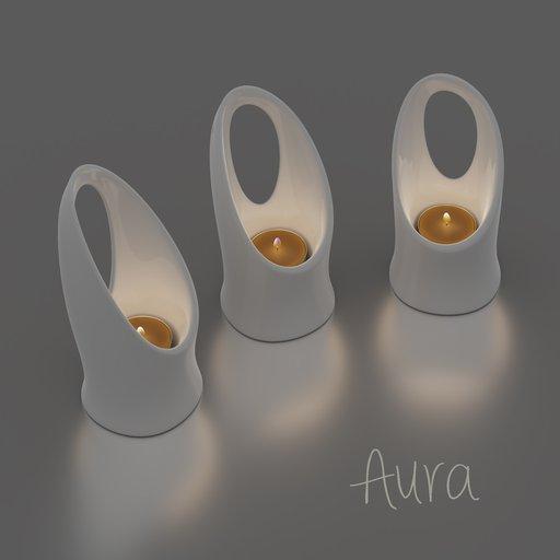 Thumbnail: Aura candlestick