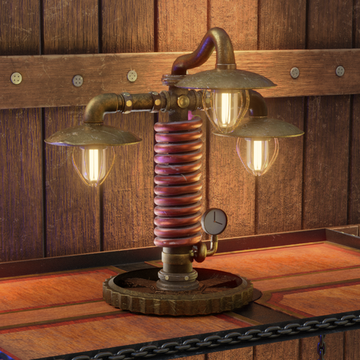Thumbnail: Steampunk Lamp