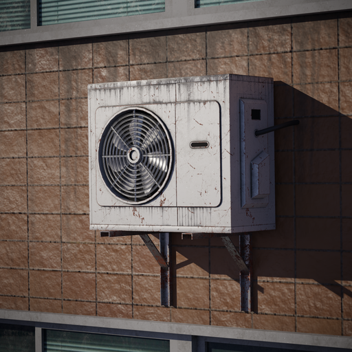 Wall Mounted Air Conditioner 01