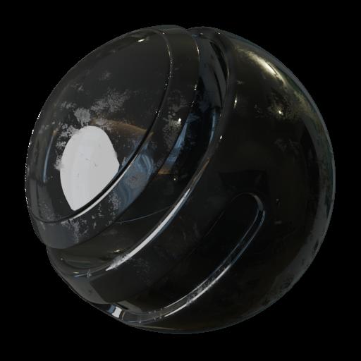 Thumbnail: Fingerprint Magnet Roughness PBR Texture Seamless II