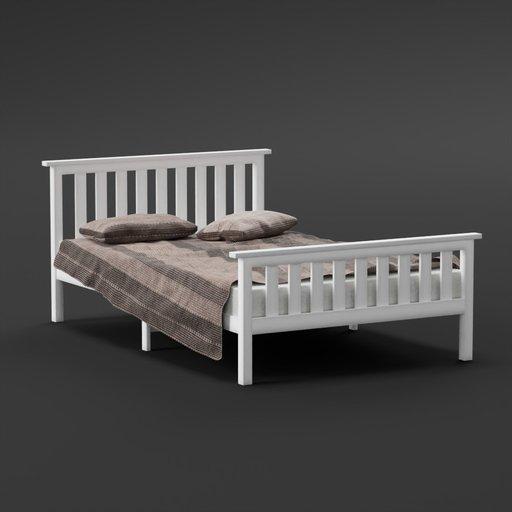 Thumbnail: PineWood Bed