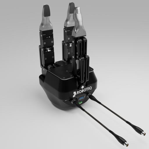 ROBOTIQ Adaptive  gripper, steel thumbs