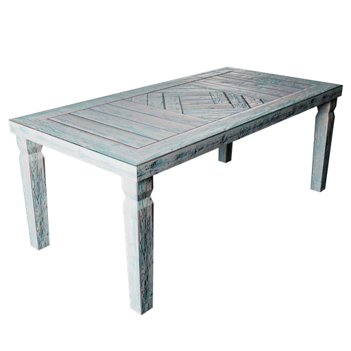 Thumbnail: Rustic Table - Old Blue