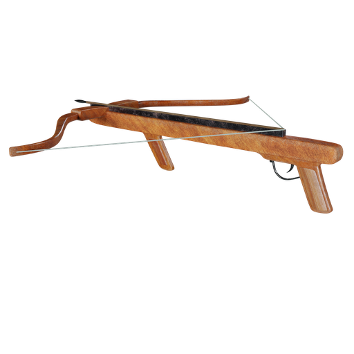 Old Wooden Crossbow