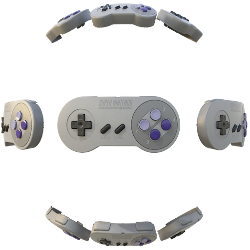 Thumbnail: SNES Controller