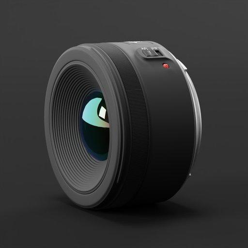 Thumbnail: Canon 50 mm STM