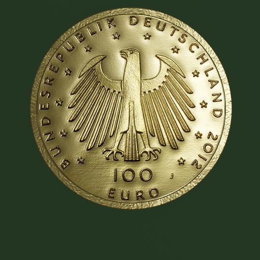 Thumbnail: Euro Coin, 100 Euro
