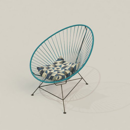 Thumbnail: Silla Acapulco with Cushion