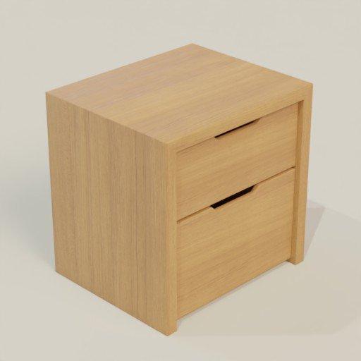 Thumbnail: Bedside Table 60x50x60 II