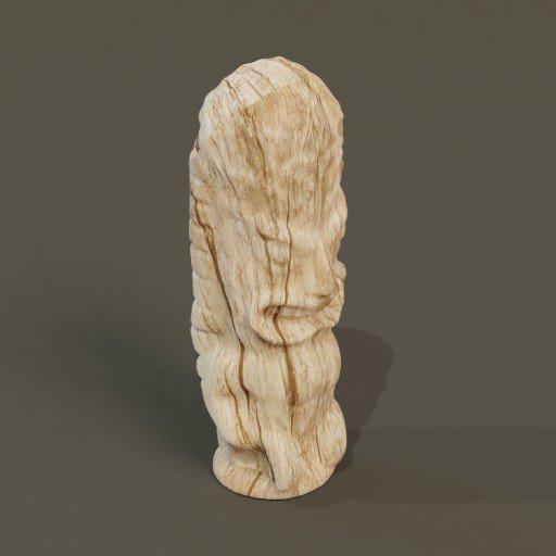 Thumbnail: Tiki Idol Wood Carving