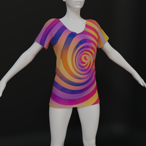Thumbnail: Simple women t shirt