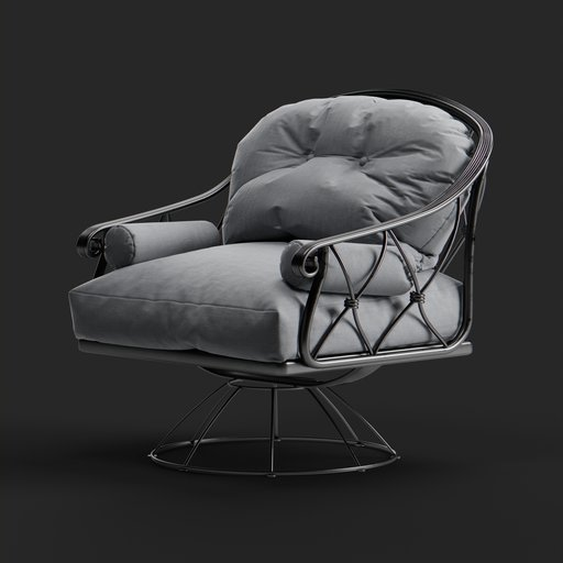 Thumbnail: Outdoor Lounge Armchair