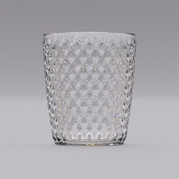 Thumbnail: glass with  square pattern