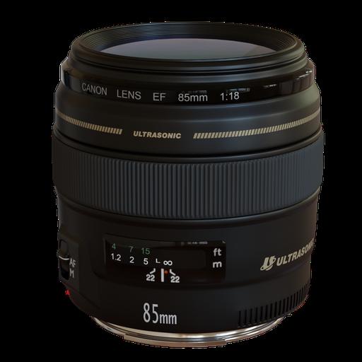 Thumbnail: Lens Canon EF 85mm f/1.8 USM