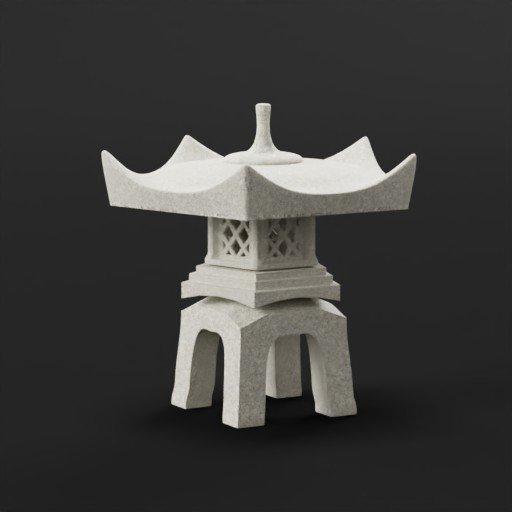 Yukimi lantern