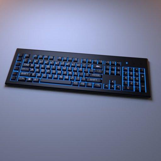 Thumbnail: Back lit Keybord
