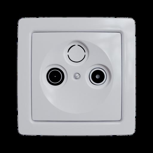 Thumbnail: ABB Swing TV+R socket