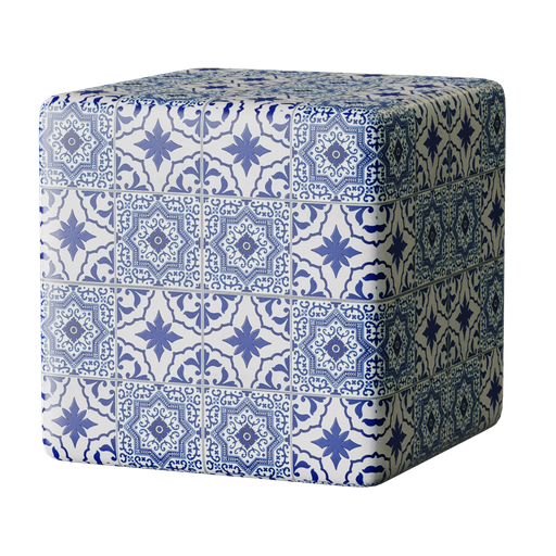 Thumbnail: Arabian Blue Tile Material