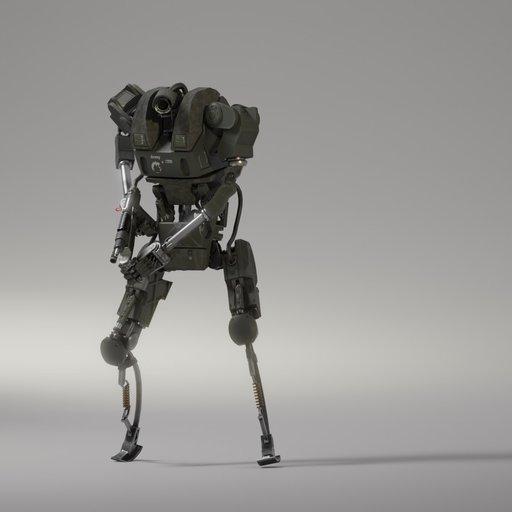 Thumbnail: Army Robot