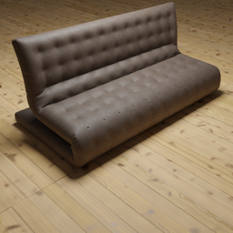 Thumbnail: Leather sofa 3 seater