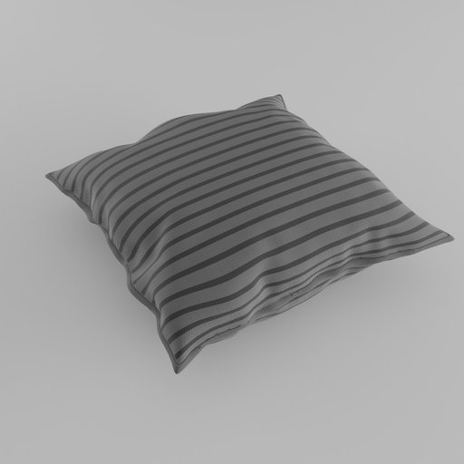 Thumbnail: Pillow with stripes