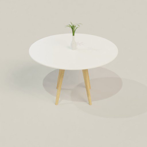 Thumbnail: Round Dining Table
