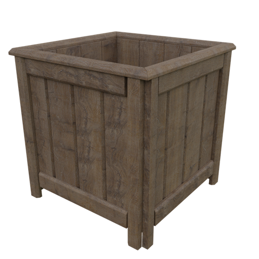 Thumbnail: Large Wood Cachepot
