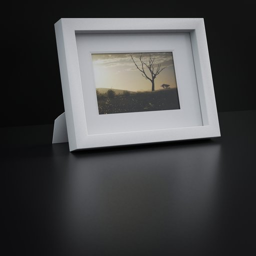 Thumbnail: Picture frame with passepartout