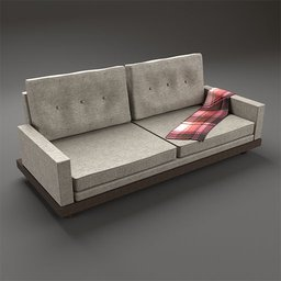 Thumbnail: Sofa, Beige