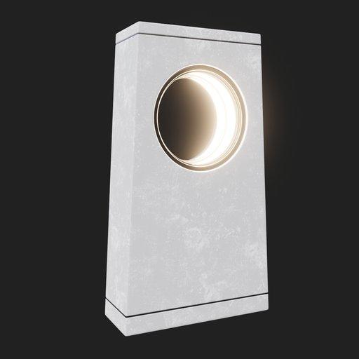 Thumbnail: Modern Street Lamp (short) #01v2