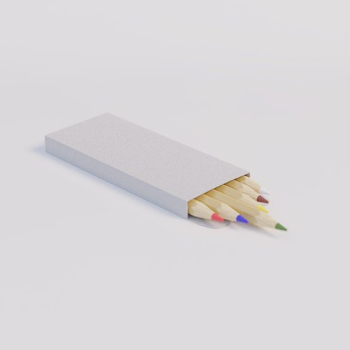 Thumbnail: Colour pencils box