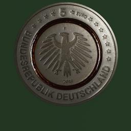 Thumbnail: Euro Coin, 5 Euro