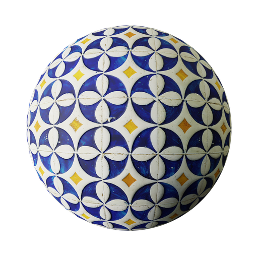 Thumbnail: Blue and white tiles