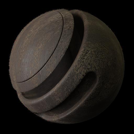 Thumbnail: Old Wood procedural 2