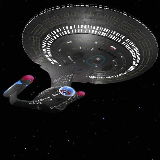 USS Enterprise - NCC-1701-D (or Enterprise-D)