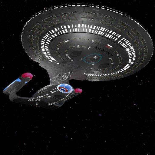 Thumbnail: USS Enterprise - NCC-1701-D (or Enterprise-D)