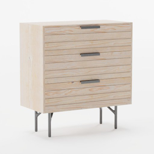 Thumbnail: Wooden Dresser light