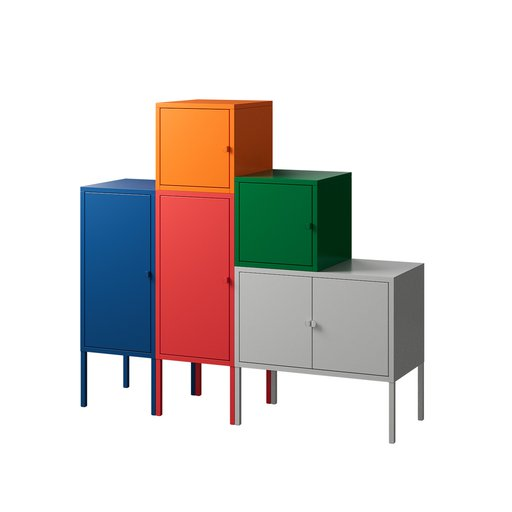 Thumbnail: Colored Cabinets