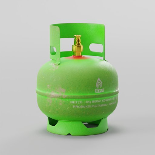 Indonesian LPG Cooking Gas Cylinders