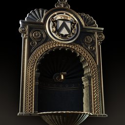 Thumbnail: Victorian Wall Fountain (dark)