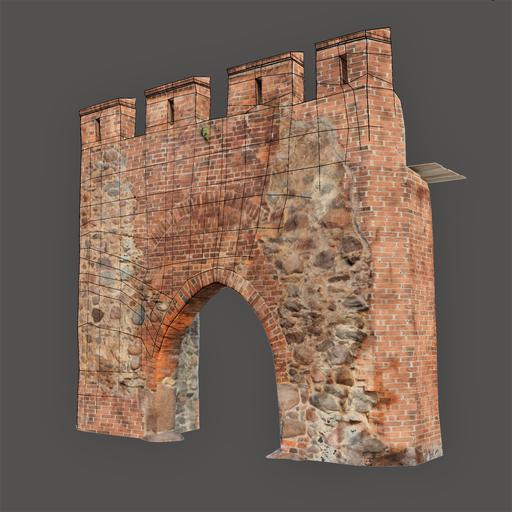 Thumbnail: Medieval gate