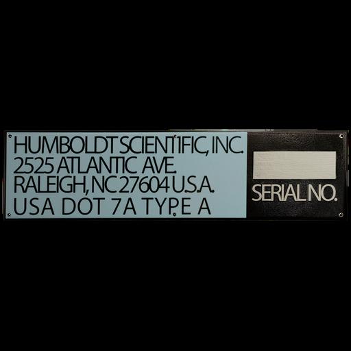 Thumbnail: Scientific Serial No. Tag