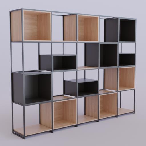Thumbnail: Metal Framed Shelf